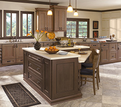 Dwelling Cabinetry   Style: Laroche  Material: Cherry  Finish: Riverbed